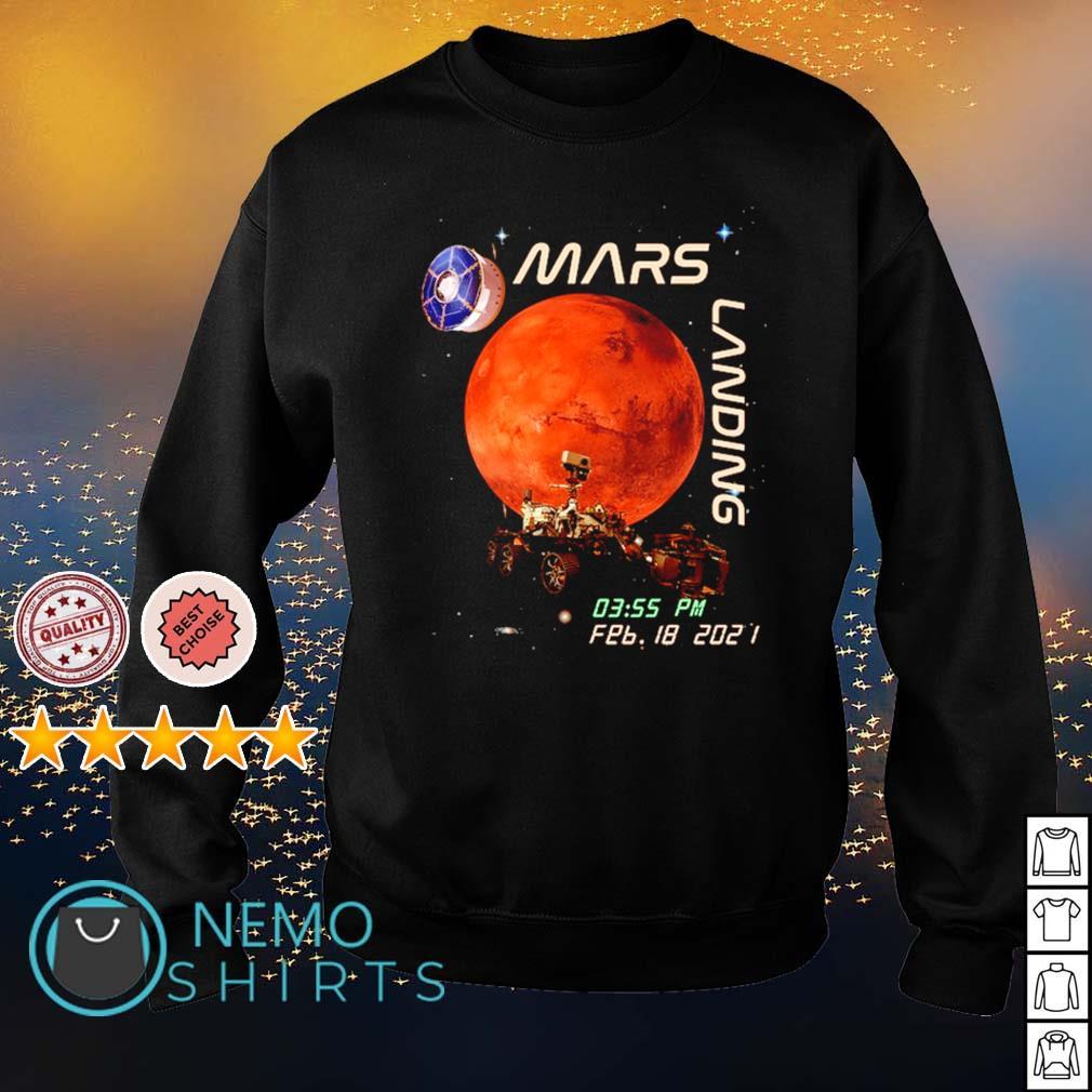 Mars landing February 18 2021 s sweater