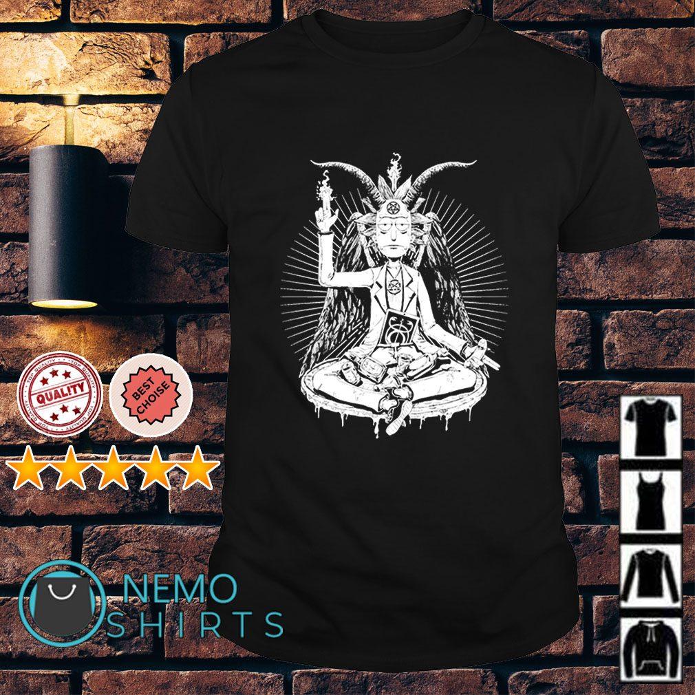 Rick and Morty Satan funny shirt