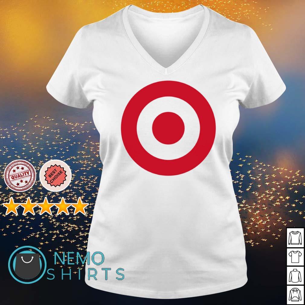 Targeted Target Corp s v-neck-t-shirt