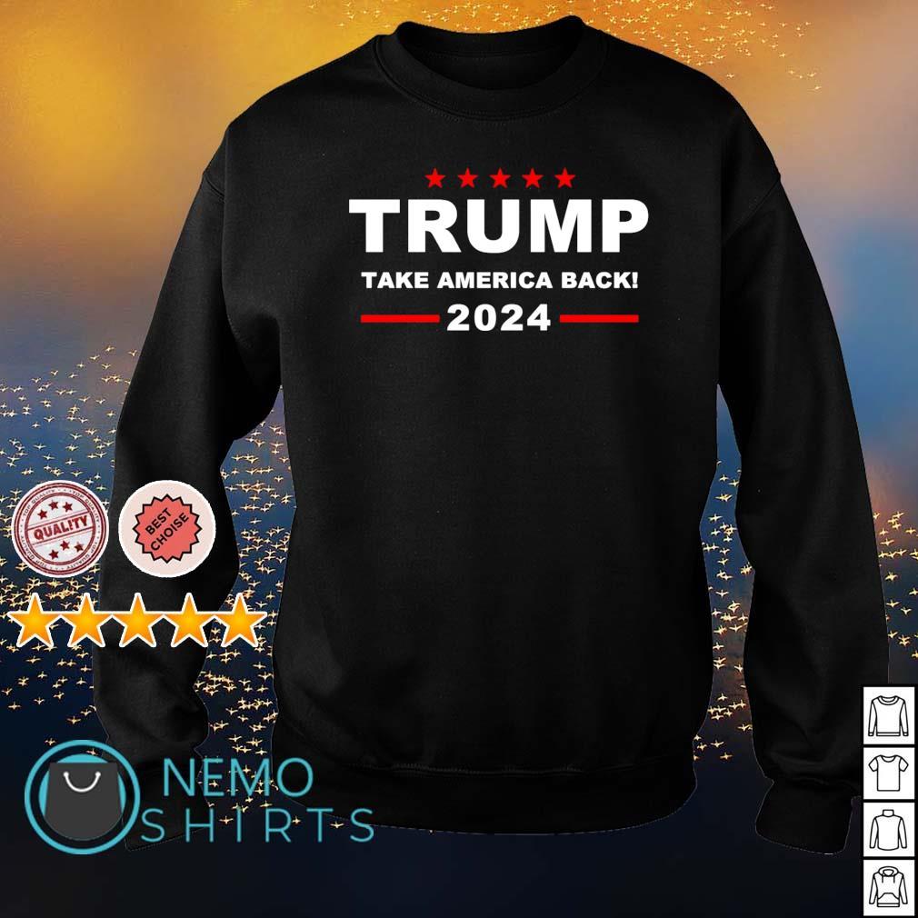 Trump take America back 2024 s sweater