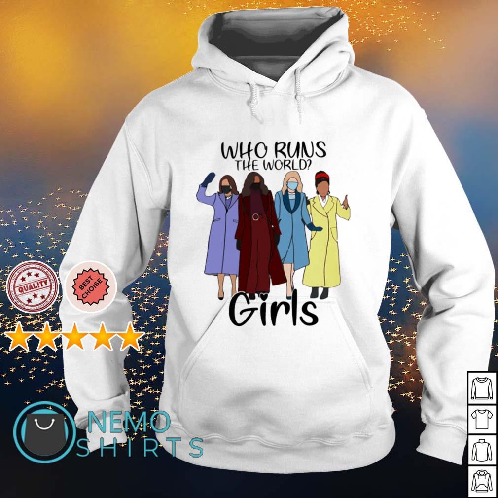 Who runs the world girls s hoodie