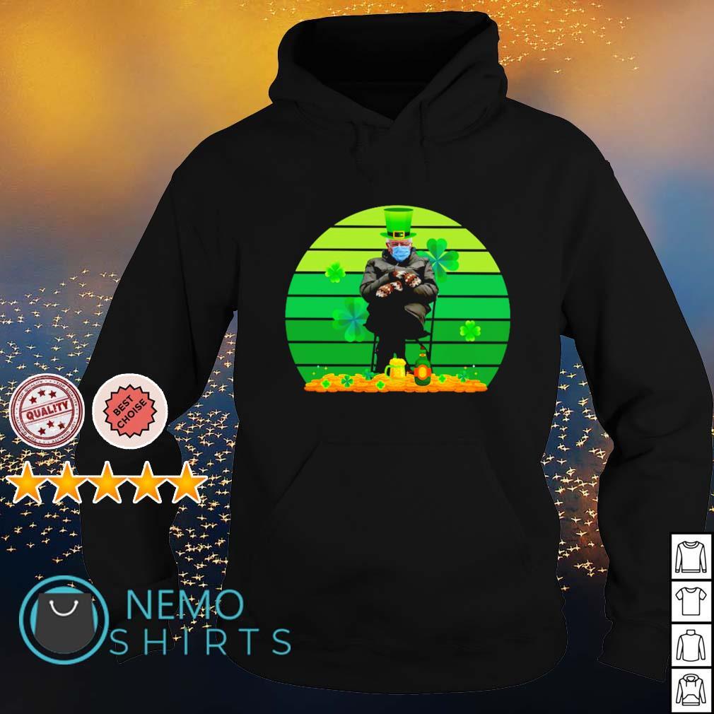 Bernie Sanders mittens shamrock St Patrick's Day s hoodie