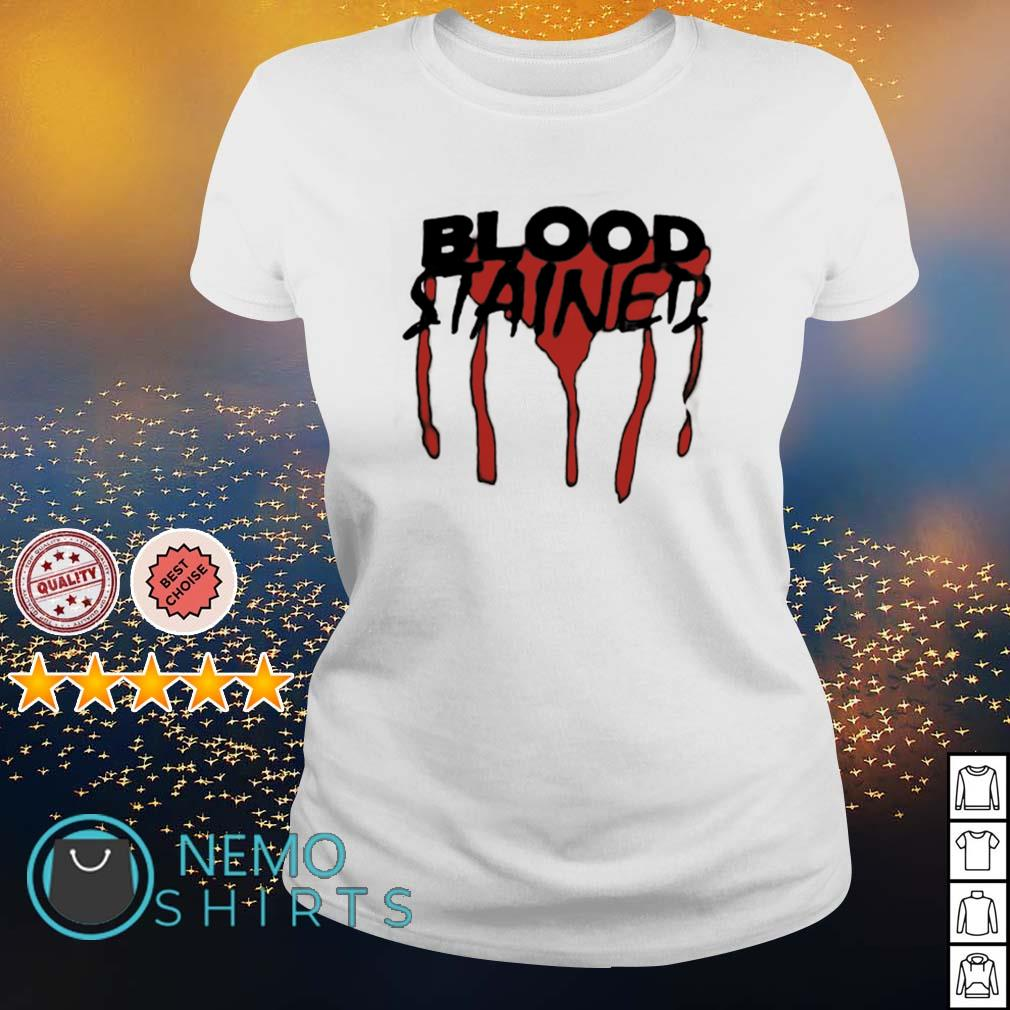 Blood stained s ladies-tee