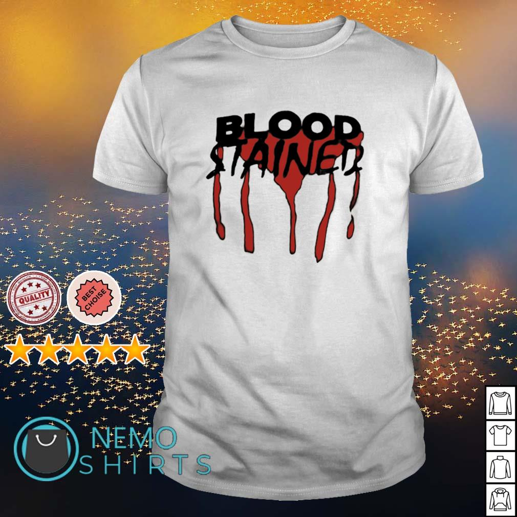 Blood stained shirt