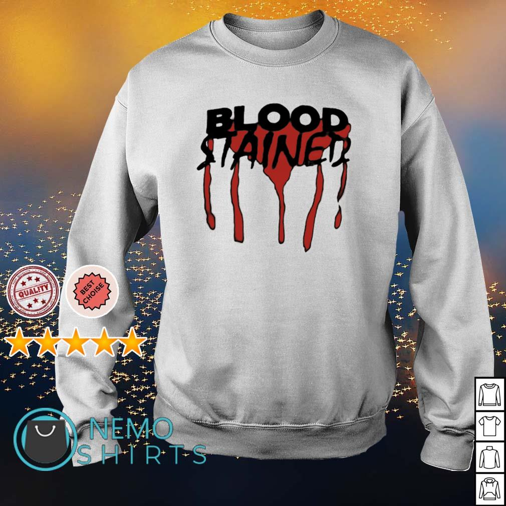 Blood stained s sweater