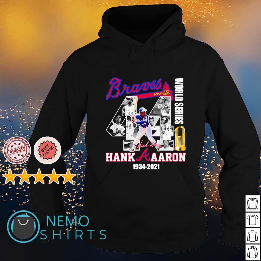 Braves Hank Aaron world series 1934 2021 s hoodie