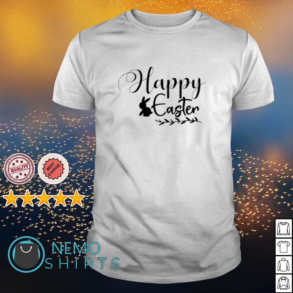 Bunny Happy Easter shirt
