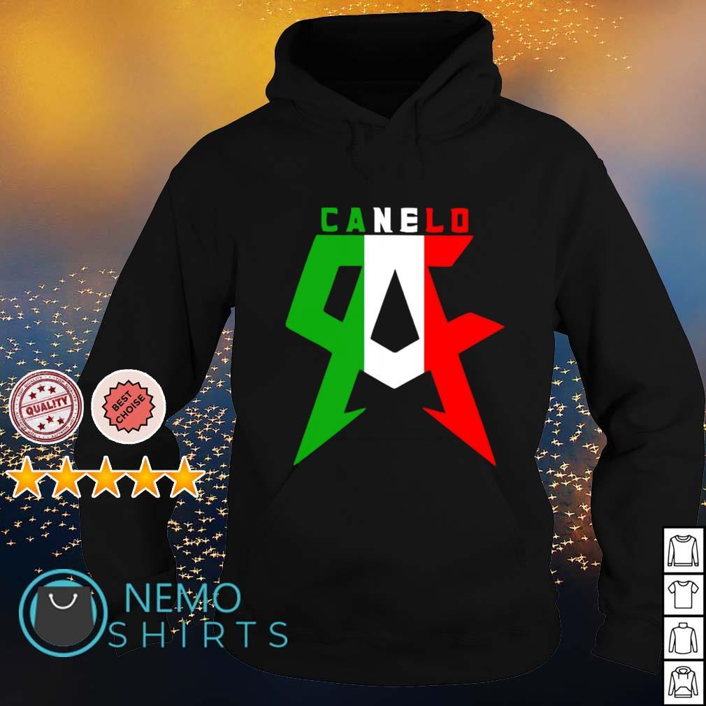 Canelo Alvarez Ca Mexican flag s hoodie