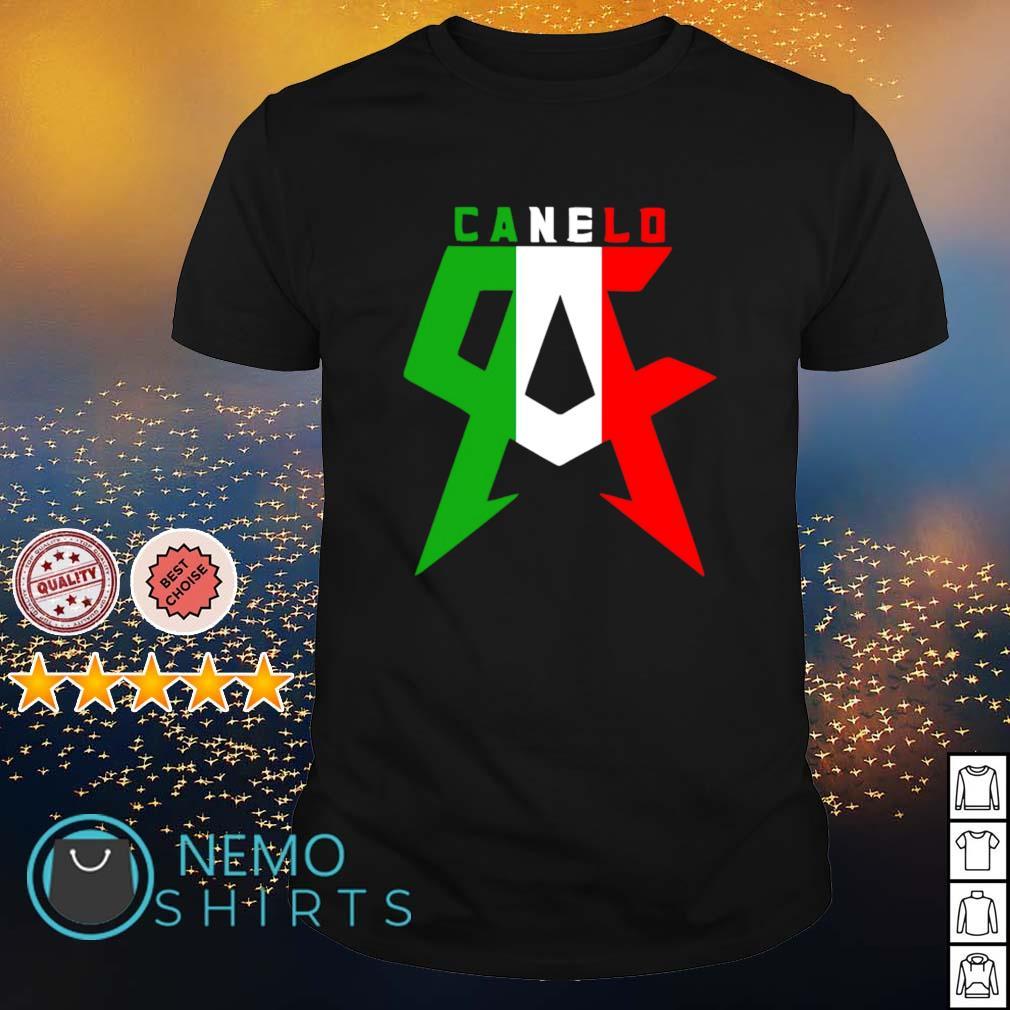 Canelo Alvarez Ca Mexican flag shirt