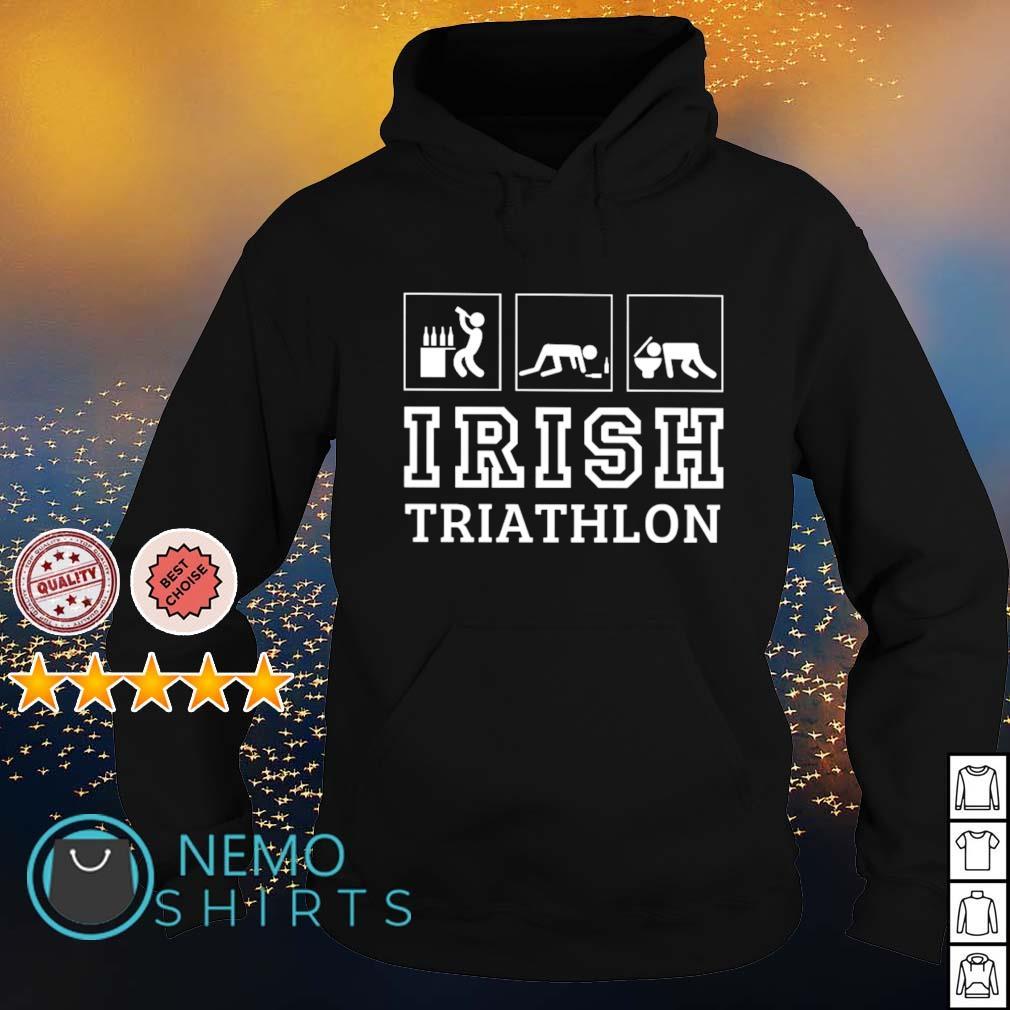 Drunk Irish triathlon s hoodie