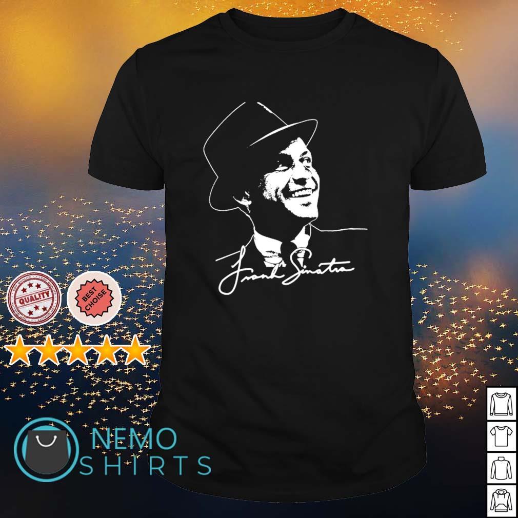Frank Sinatra signature shirt