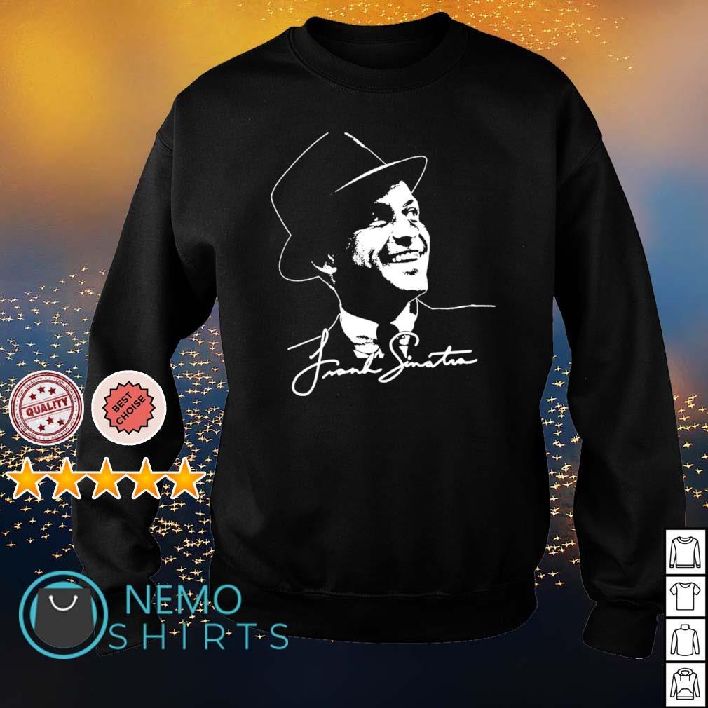 Frank Sinatra signature s sweater