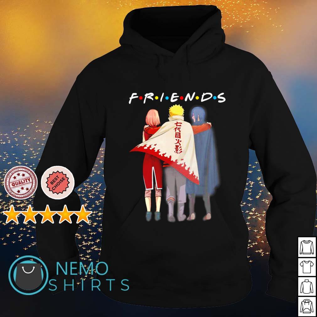 Friends Naruto Sasuke and Haruno Sakura s hoodie