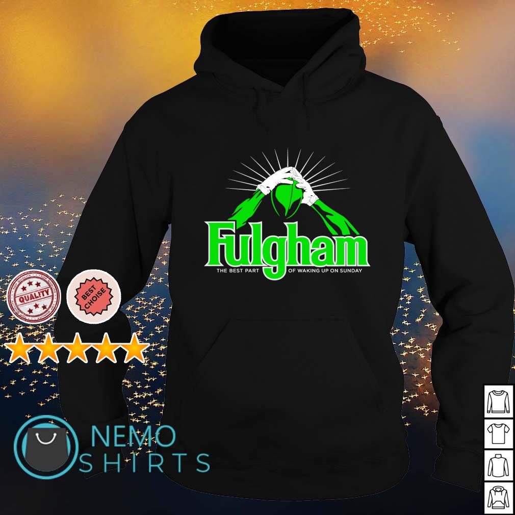 Fulgham the best part of waking up on Sunday s hoodie