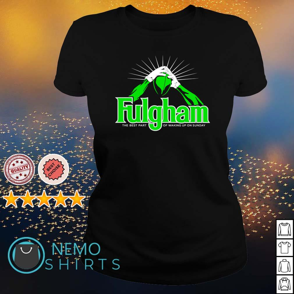 Fulgham the best part of waking up on Sunday s ladies-tee