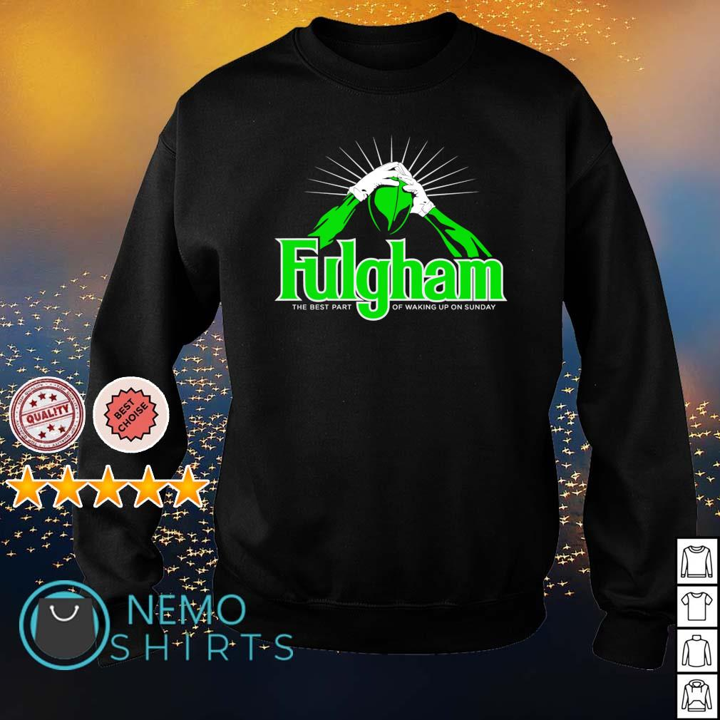 Fulgham the best part of waking up on Sunday s sweater