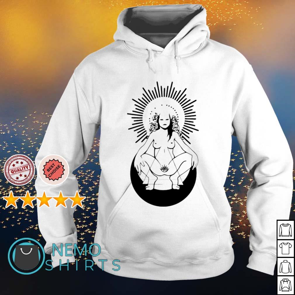 Girl nude ready to live s hoodie