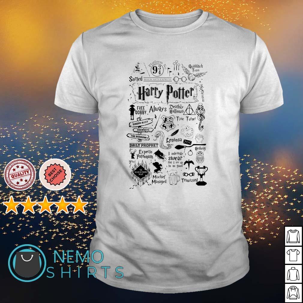 Always Hogwarts Deathly hallows Tshirt harry potter UNISEX top T shirt