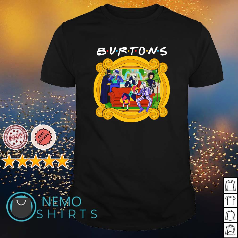 Tim Burton characters friends the one with the Burtons shirt