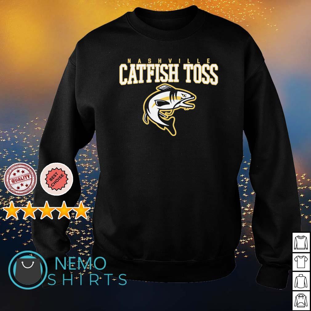 Nashville Predators catfish toss s sweater