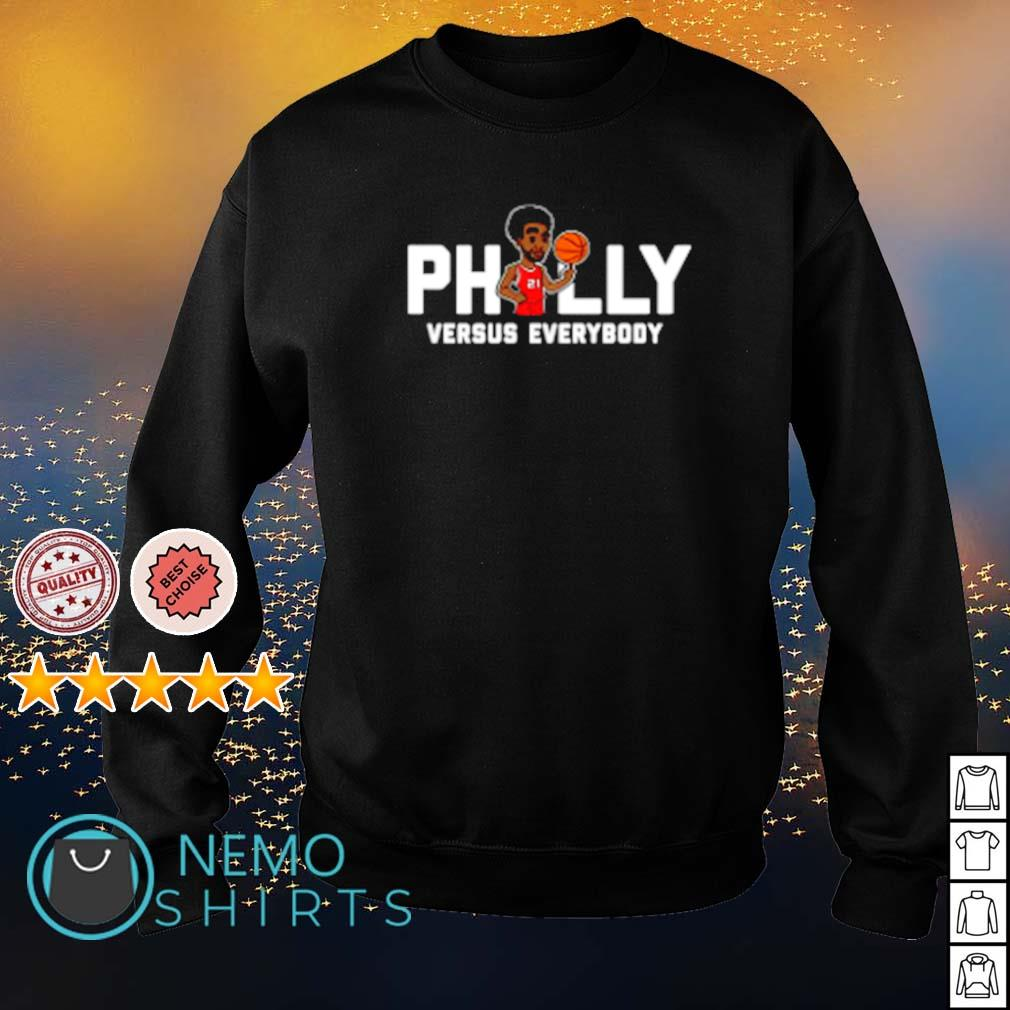 Philly Embiid Versus everybody s sweater