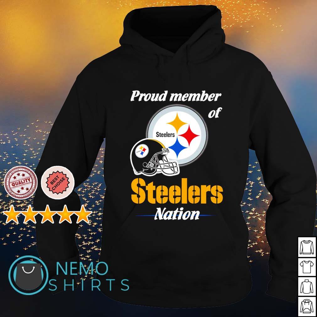Proud member of Steelers nation s hoodie