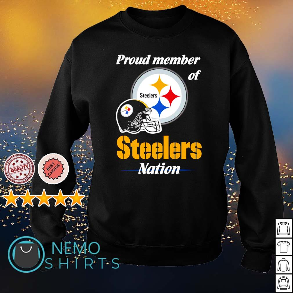 Proud member of Steelers nation s sweater