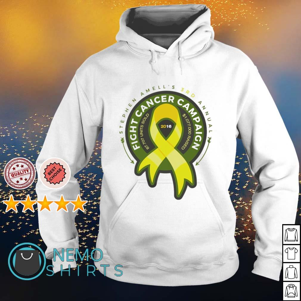 Stephen Amell's 3rd annual fight cancer campaign s hoodie