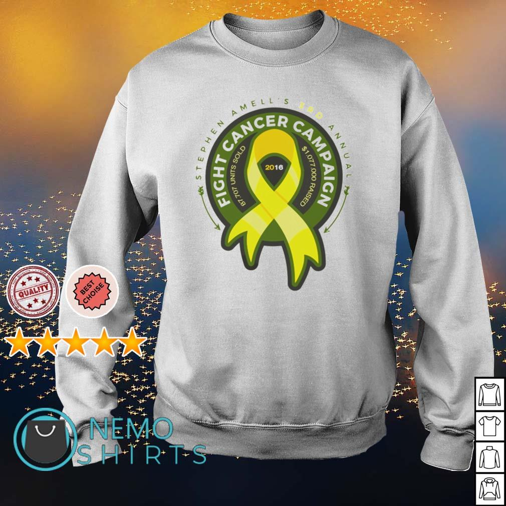 Stephen Amell's 3rd annual fight cancer campaign s sweater