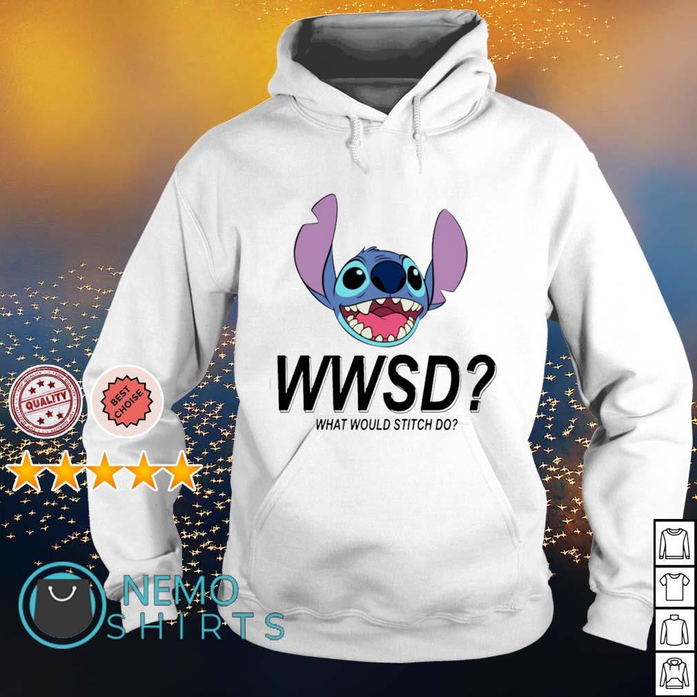 Stitch WWSD what would Stitch do s hoodie