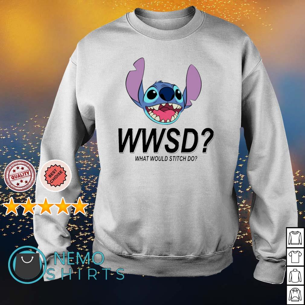 Stitch WWSD what would Stitch do s sweater
