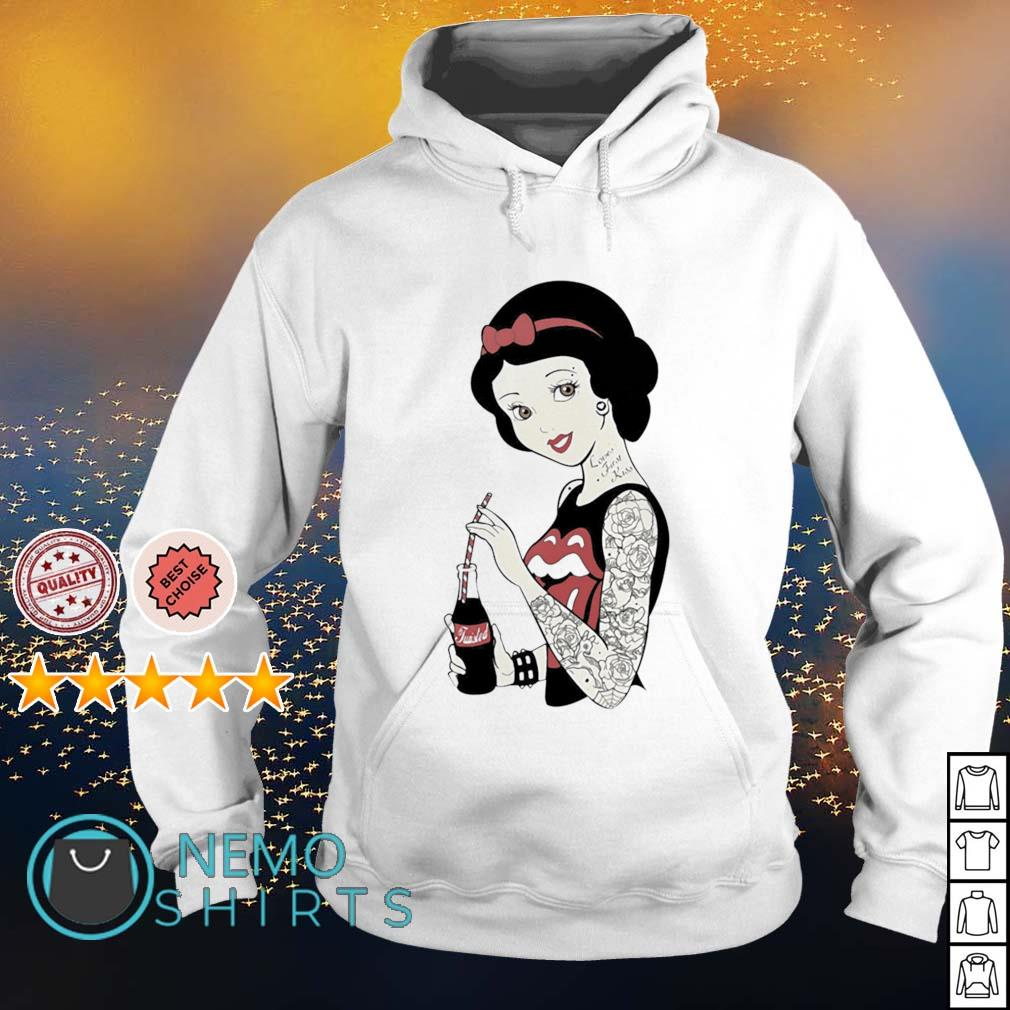 The Rolling Stones girl tattoos s hoodie