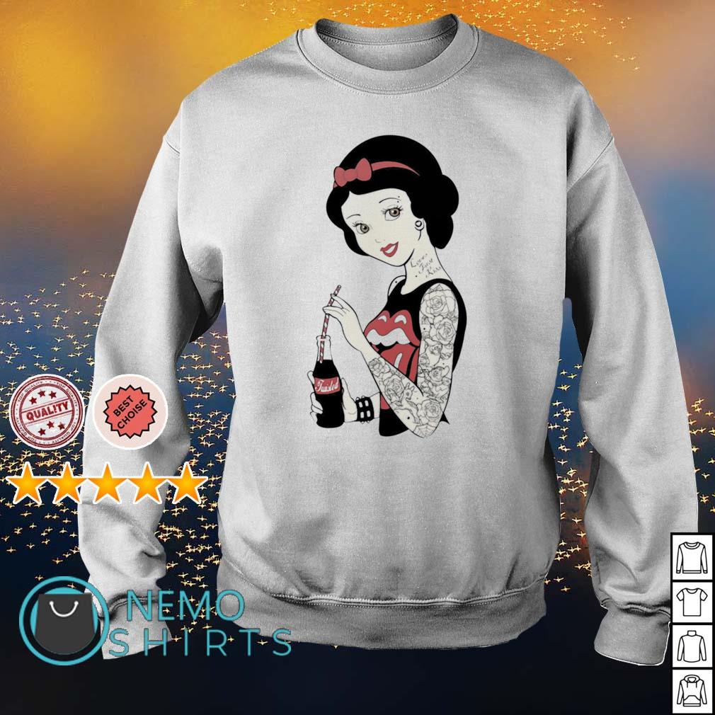 The Rolling Stones girl tattoos s sweater