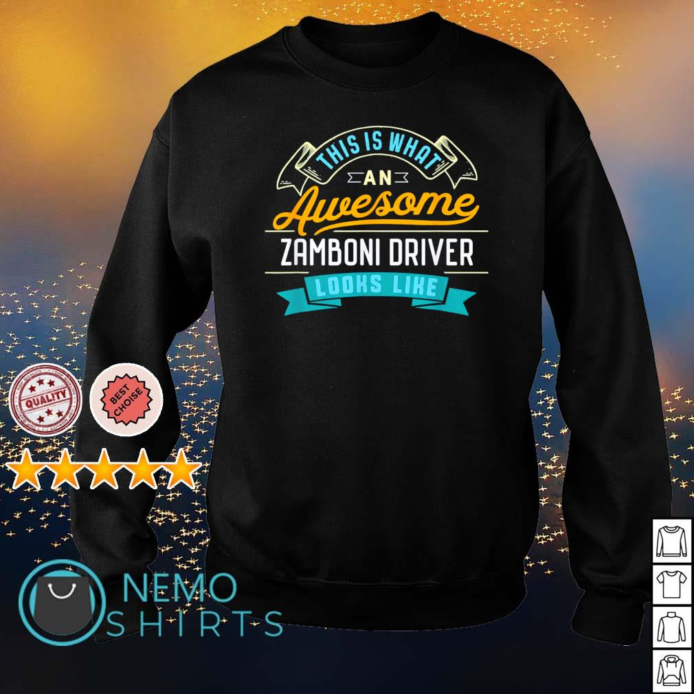 This is what an awesome zamboni driver looks like s sweater