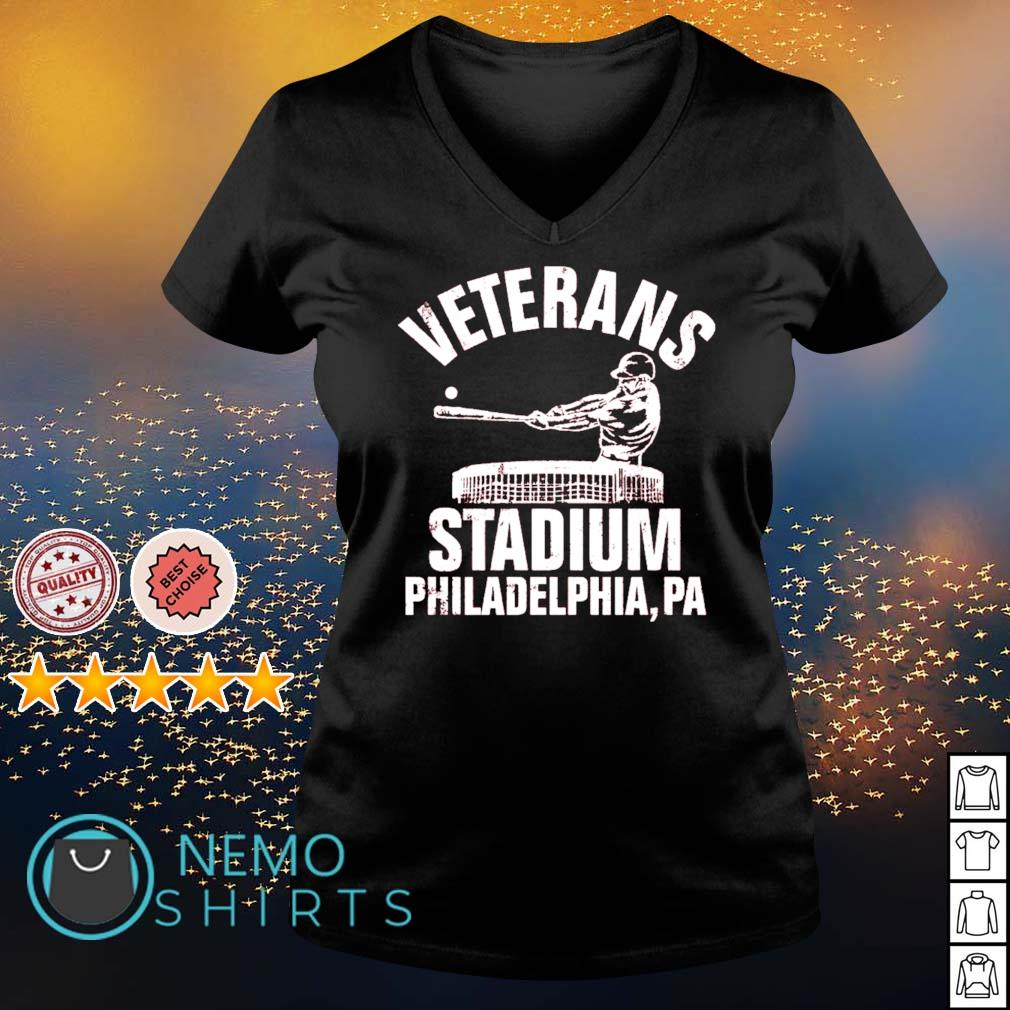 Veterans stadium Philadelphia s v-neck-t-shirt