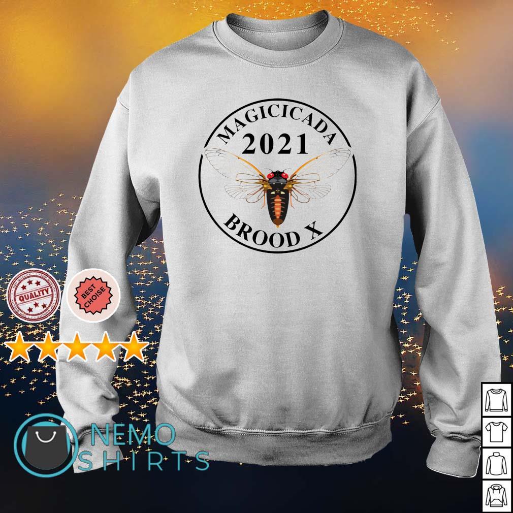 Magicicada 2021 brood X s sweater