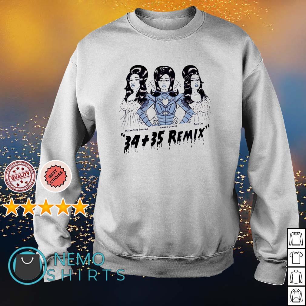 Ariana Grande 34+35 Remix s sweater