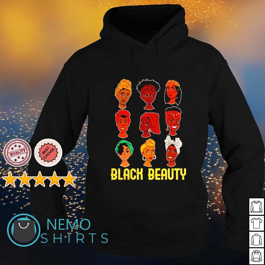 Black woman black beauty s hoodie