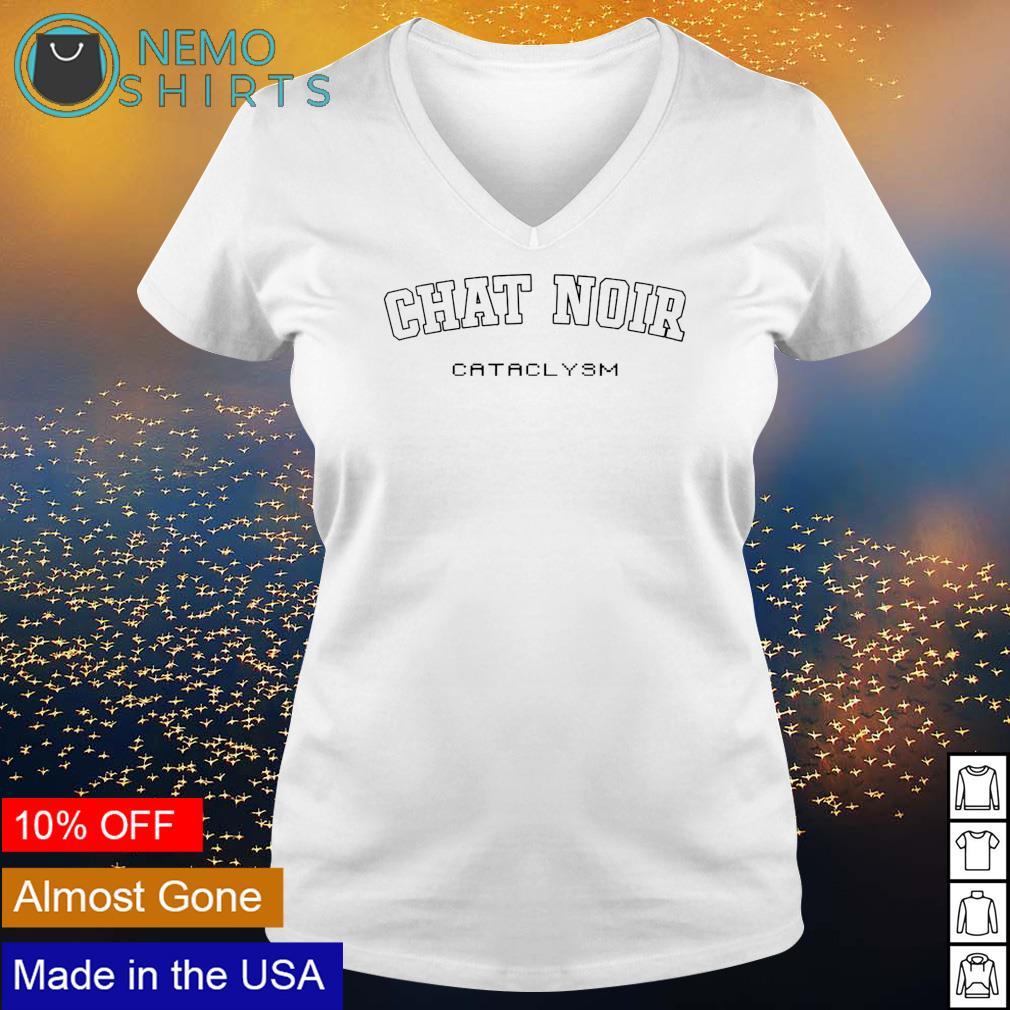 Chat Noir Cataclysm s v-neck-t-shirt