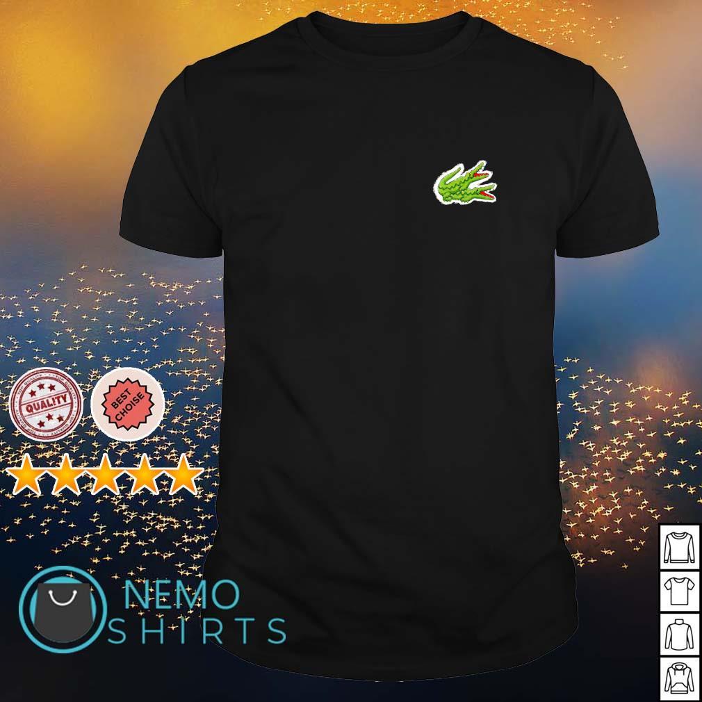 Crocodile fucking logo shirt