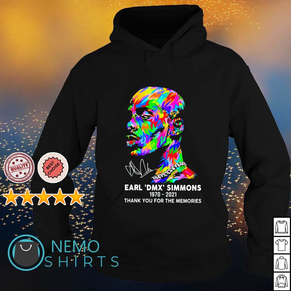 Earl Simmons DMX 1970 2021 thank you for the memories s hoodie