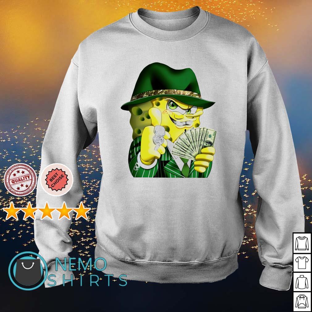Gangster spongebob s sweater