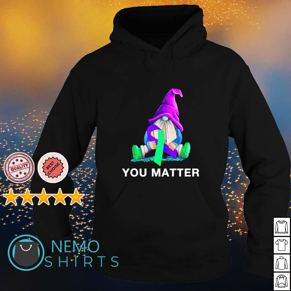 Gnome Suicide Awareness you matter s hoodie