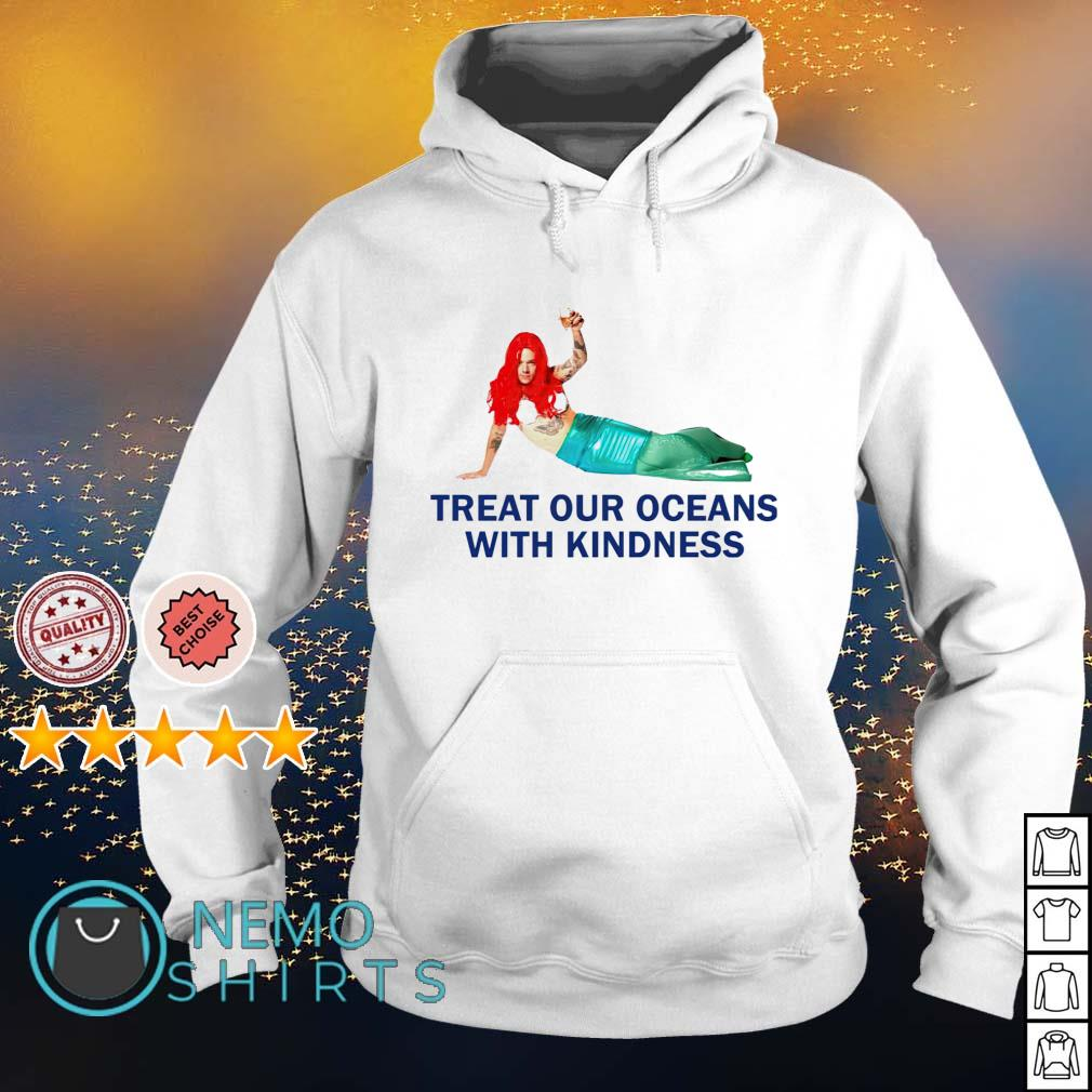 Harry Styles Mermaid Treat our oceans with kindness s hoodie
