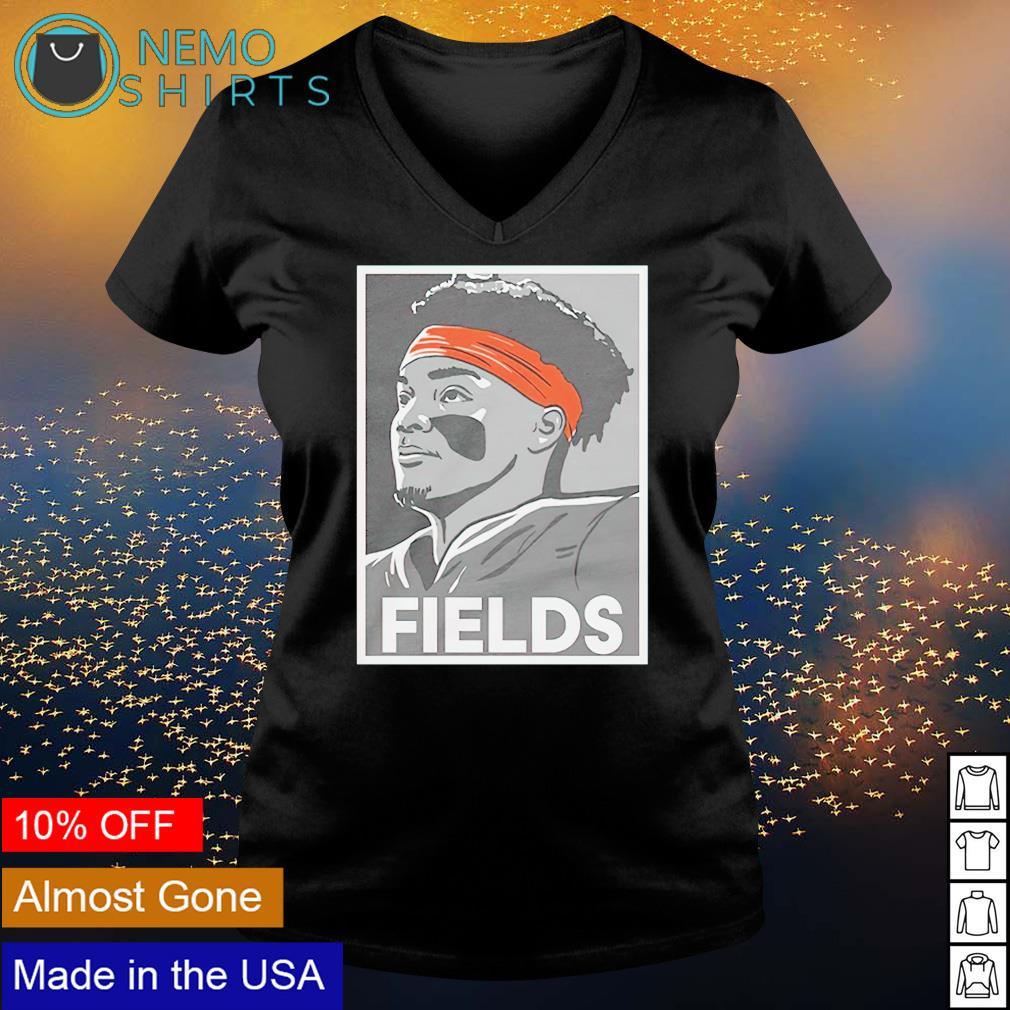 Justin Fields brings hope for the quarterback position s v-neck-t-shirt