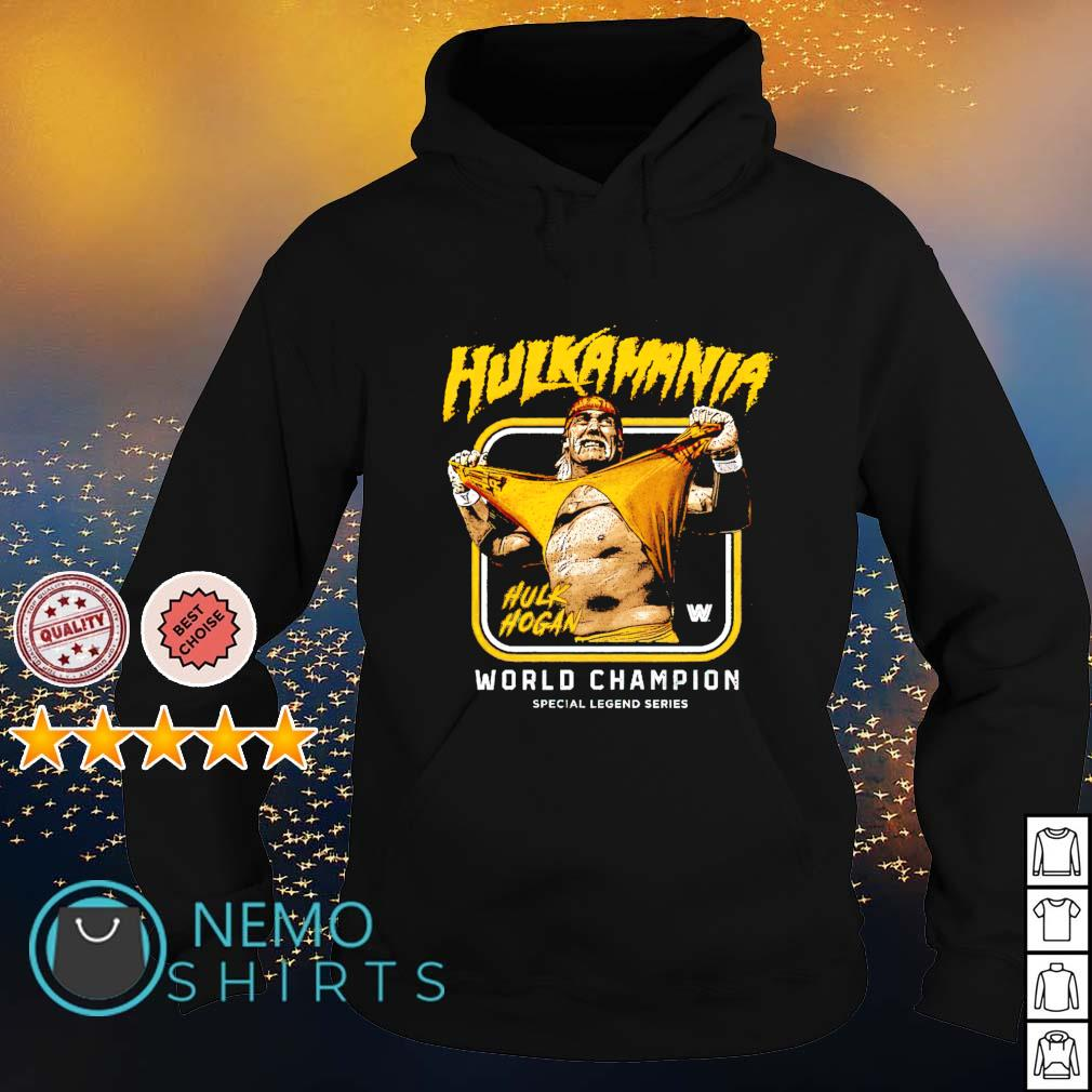 Legends WWE Hulk Hogan Hulkamania world champion s hoodie