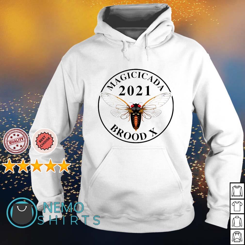 Magicicada 2021 Brood X s hoodie