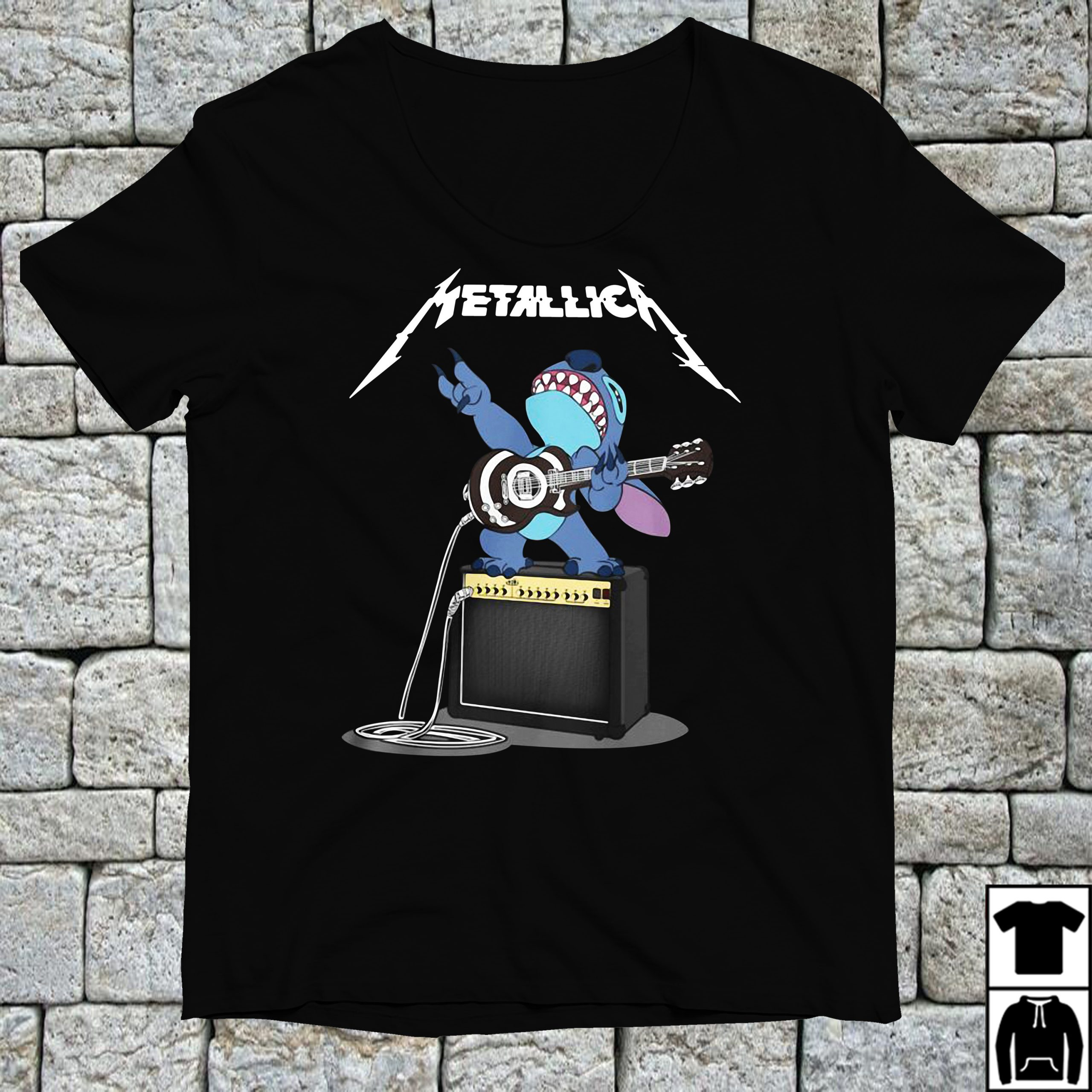 Official Stitch Metallica shirt