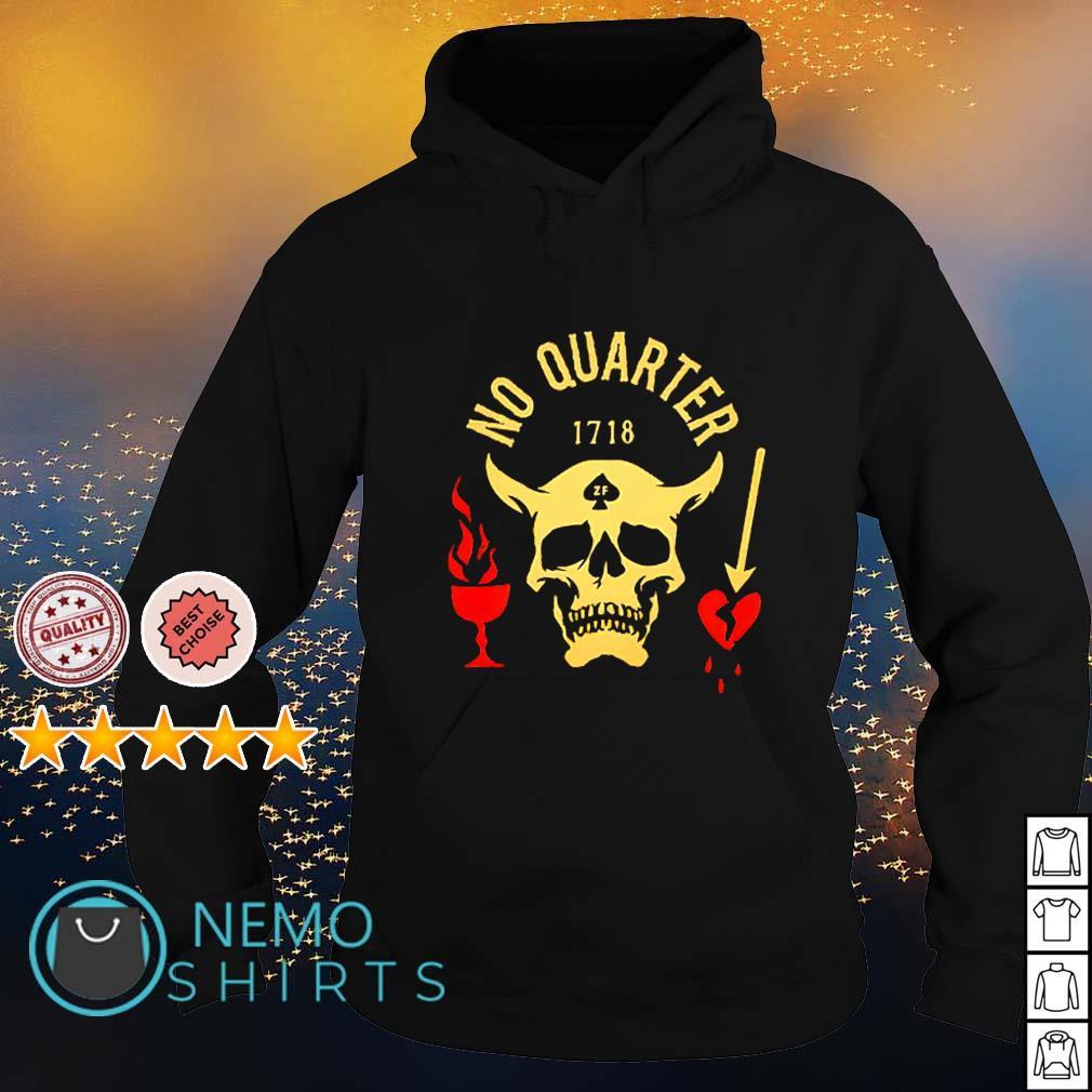 Satan no quarter 1718 s hoodie