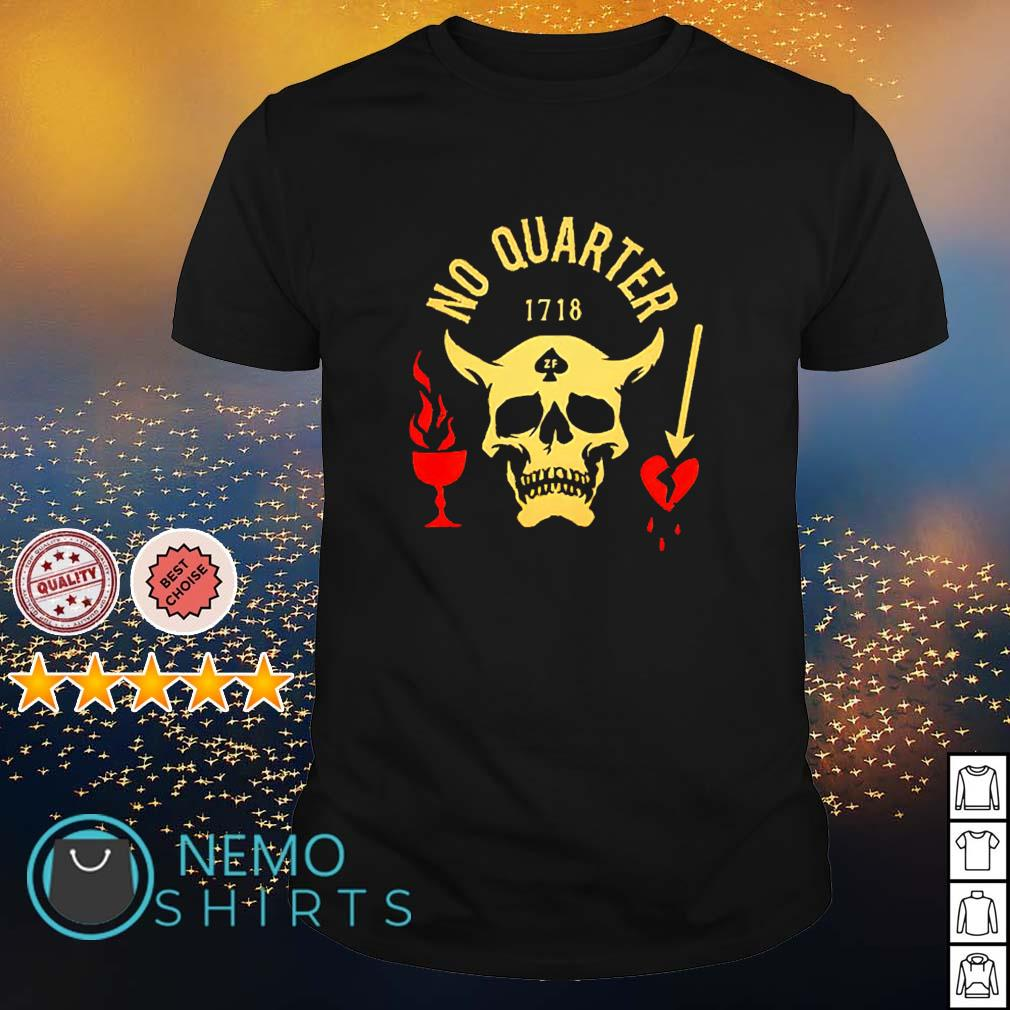 Satan no quarter 1718 shirt